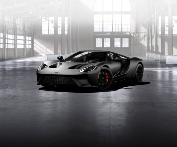 Matte-Black-Ford-GT-front-three-quarter (1)