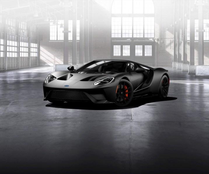 Matte-Black-Ford-GT-front-three-quarter (1)
