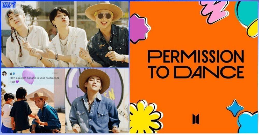 """Permission To Dance"" သီချင်းထဲမှာ ခဏခဏပြန်ကြည့်မိတဲ့ချစ်စရာအခိုက်အတန့် (၁၁) ခု"