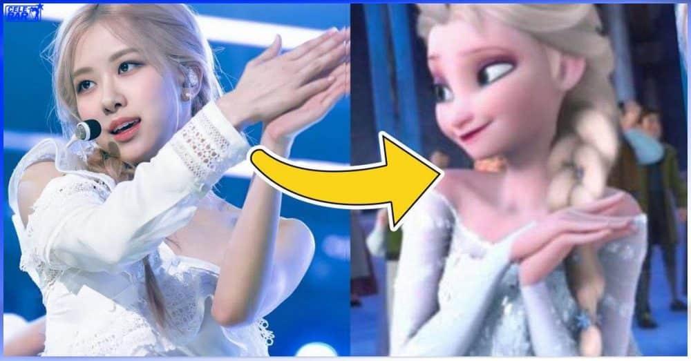 Disney မင်းသမီးလေး (10) ယောက်ရဲ့ လူ version လို့တောင် ထင်မှတ်မှားရမဲ့ အရမ်းချစ်ဖို့ကောင်းတဲ့ Rosé