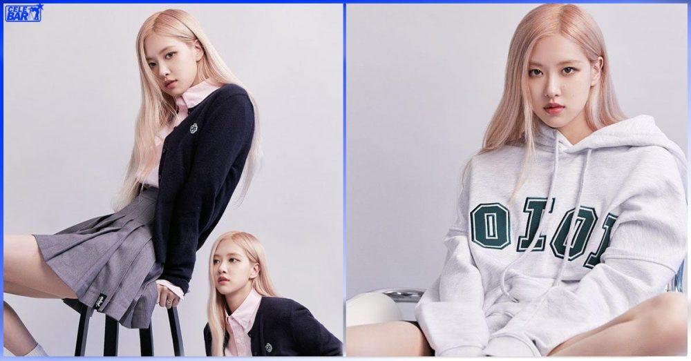 5252 BY O!Oi brand ဝတ်ပြီး Cute type ရော Girl Crush type နဲ့ရော ဆွဲဆောင်မှုရှိနေတဲ့ Rosé