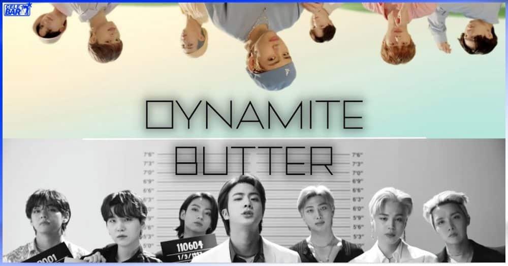 """Billboard မှာ အပြိုင်အဆိုင် အနိုင်လုရင်း စံချိန်သစ်တင်နေတဲ့ """"Butter"""" နဲ့ """"Dynamite"""""""