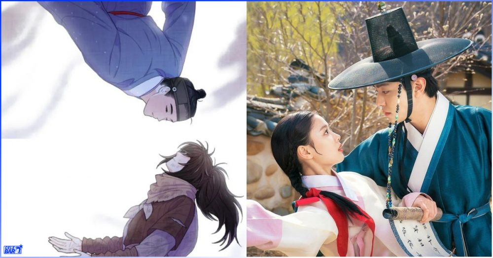 """""""Lovers of the Red Sky"""" ဇာတ်လမ်းတွဲနဲ့ webtoon ကြားက အဓိက ကွာဟချက် (၄) ခု"""