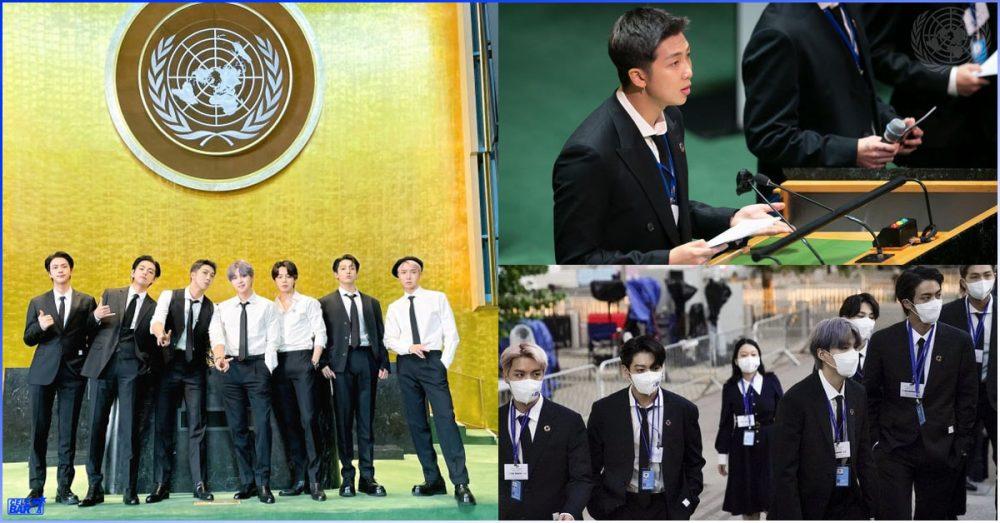 ၇၆ ကြိမ်မြောက် UN အထွေထွေညီလာခံမှာ လူငယ်တွေအတွက် အားပေးစကားပြောကြားခဲ့တဲ့ BTS