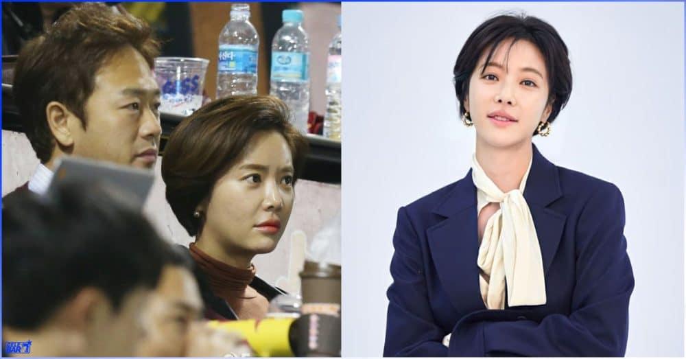 ခင်ပွန်းဖြစ်သူနဲ့ ပြန်ပြေလည်ပြီး ဒုတိယရင်သွေးလေး လွယ်ထားရပြီဖြစ်တဲ့ မင်းသမီး Hwang Jung Eun