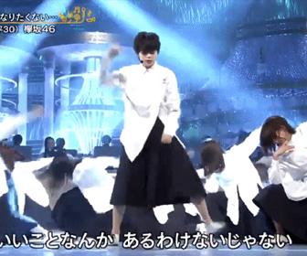 欅坂46平手友梨奈のパフォーマンス