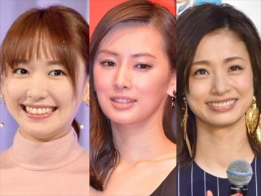 【画像あり】北川景子、新垣結衣、上戸彩「実際に会ったら本当にキレイだった芸能人」