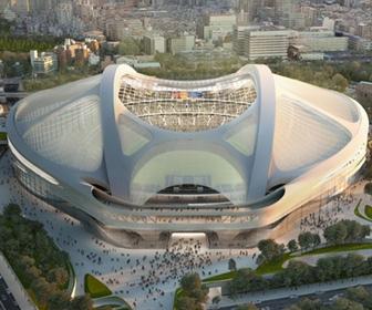 【画像あり】外観完成が完成した新国立競技場が酷すぎると話題に!【2500億円】