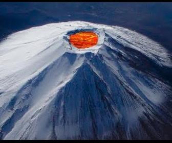 富士山 噴火