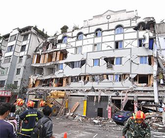 中国大陸で大きな地震