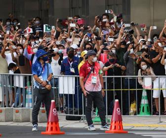 東京五輪 男子マラソンも会場周辺沿道で「密」