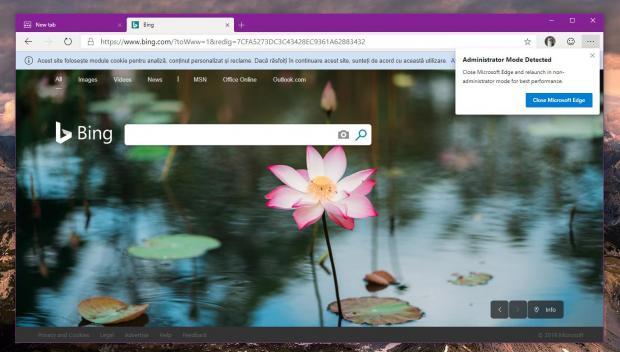 Chromium Microsoft Edge Browser to Warn of Administrator