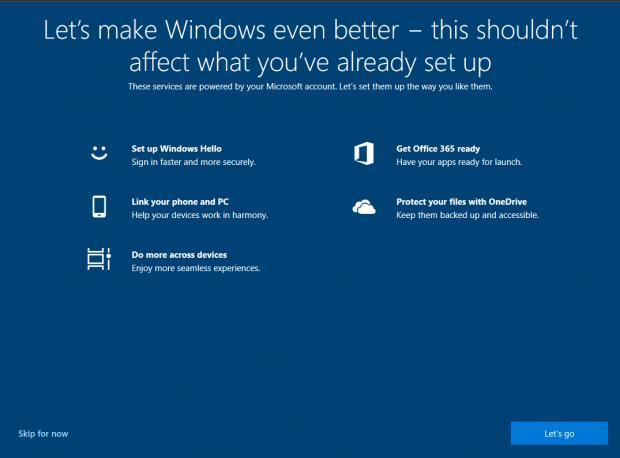 "Windows 10 Version 1903 Will Offer to Help Users ""Make"