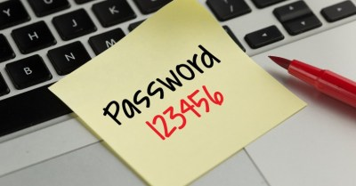 People still obsessed with the most unsecure 123456 password
