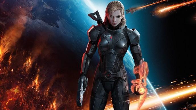 Image result for Commander Shepard (Mass Effect)