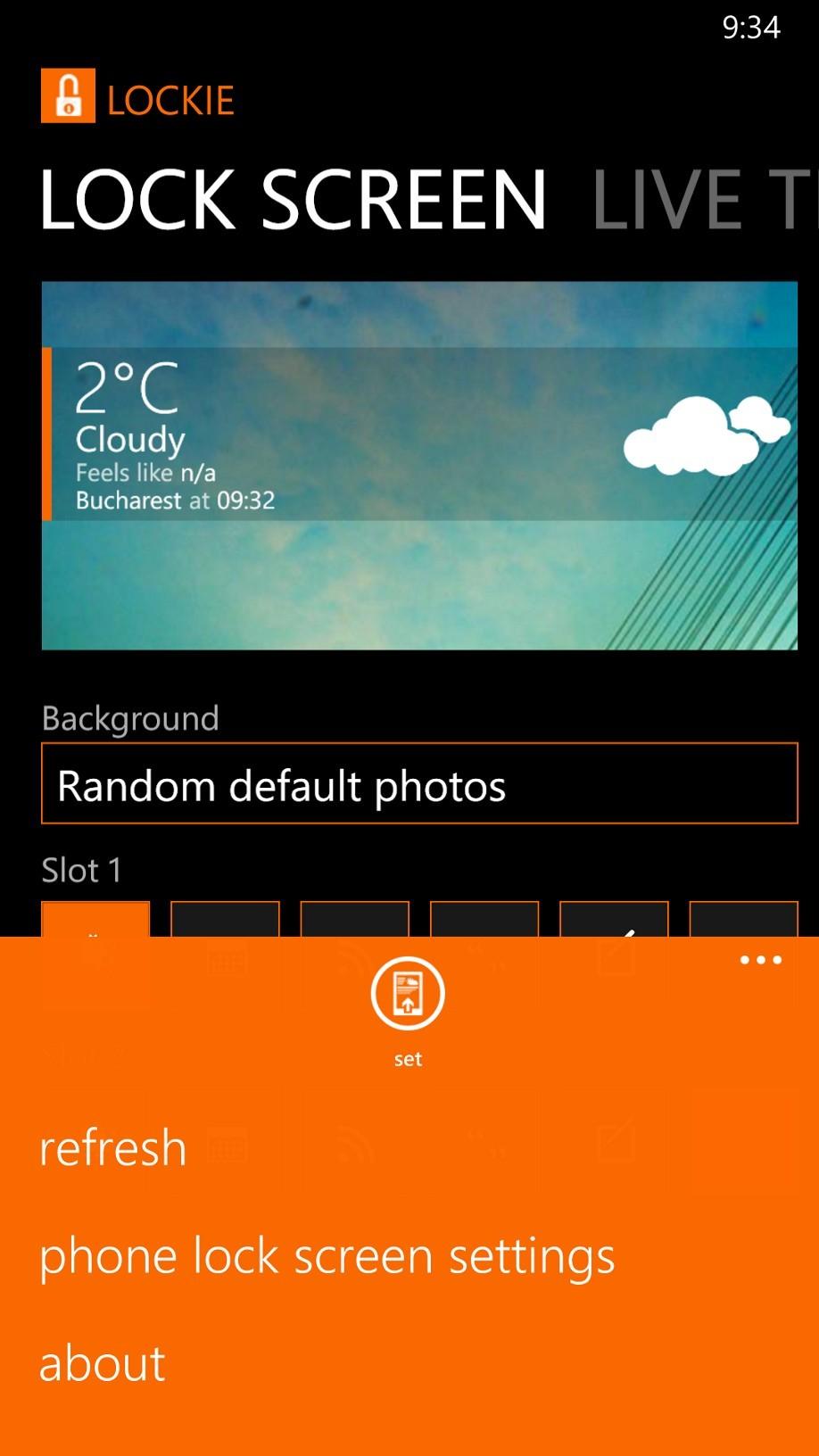 Fresh Home App Windows Phone