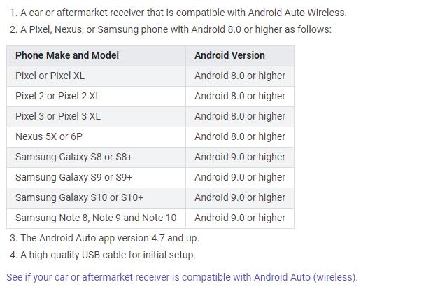 Android Auto Wireless Supporting More Phones Isn T All Good News