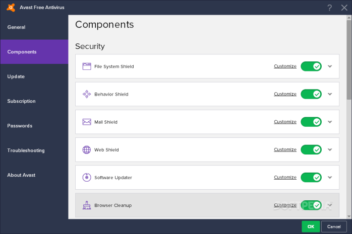 Disable HTTPS in Avast to resolve the bug