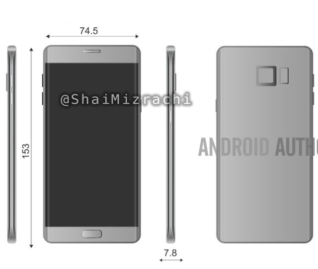 Leaked Renders Of The Galaxy Note