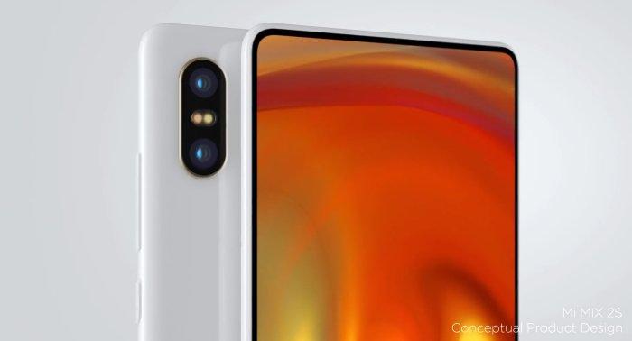 Концепт-дизайн смартфона Xiaomi Mi MIX 2S появился в сети