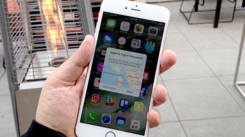 Двухфакторная аутентификация довела Apple до суда