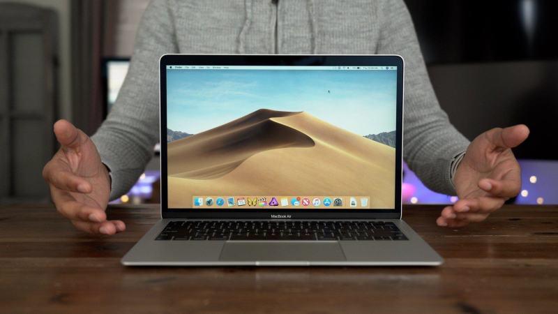 Спорим, не знали? macOS 10.14.4 увеличивает яркость нового MacBook Air на 30%
