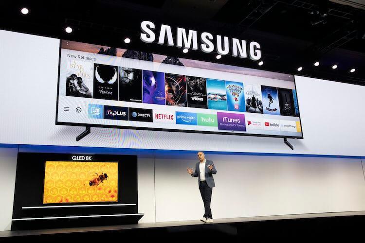 Смарт-телевизоры Samsung получили обновление с поддержкой приложения Apple TV и AirPlay 2