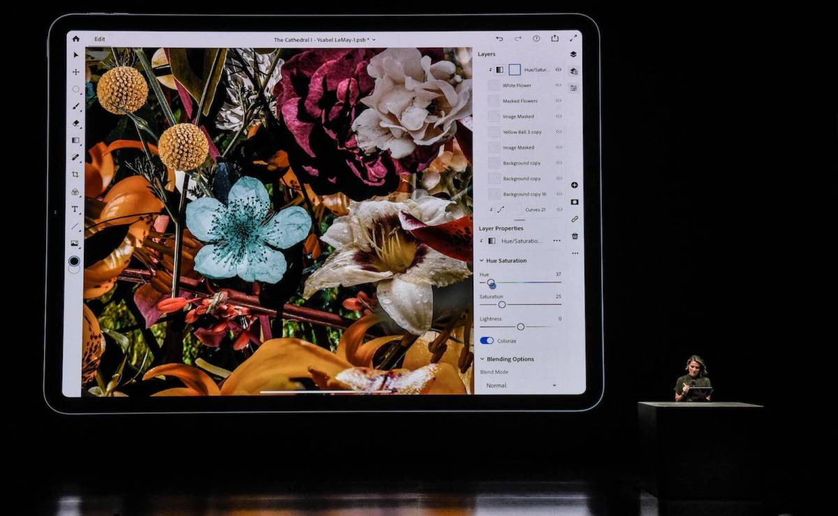 Adobe запускает бета-тест Photoshop для iPad