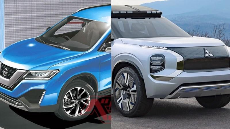 Новые кроссоверы 2020 Nissan X-Trail и Mitsubishi Outlander объединит одна платформа