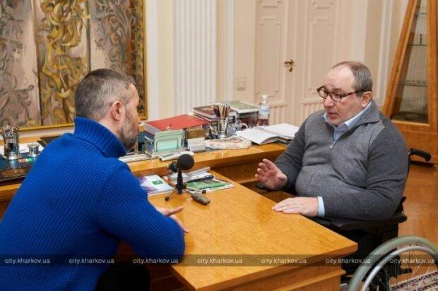 Кернес с Бабкиным закрылись в кабинете, дискуссия была жесткой: о чем договорились мэр Харькова и известный музыкант