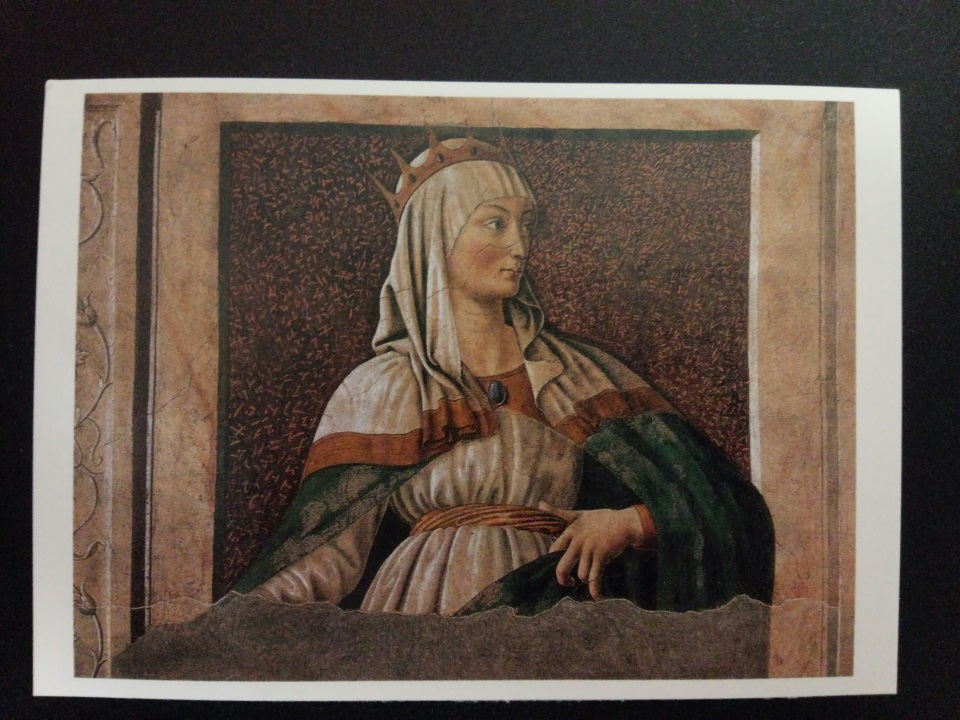 アートカードブック カスターニョ「王妃エステル」