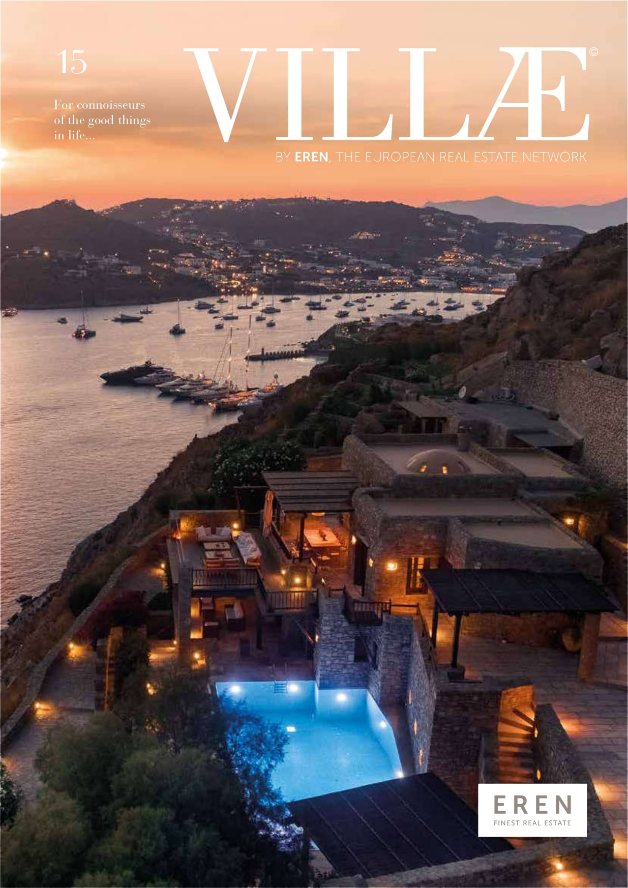 "DISPONIBILE IL NUOVO NUMERO DI ""VILLAE INTERNATIONAL MAGAZINE"""