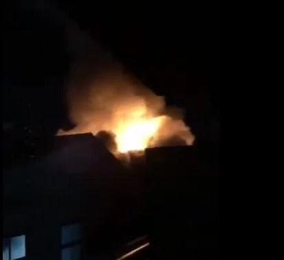 兵庫県 姫路市 南条 火事 火災