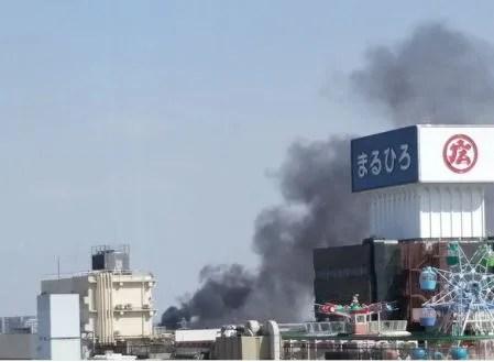 川越 小江戸 まるひろ 火事 火災