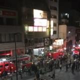 牛角 保谷店 火災 火事