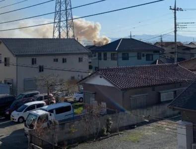 群馬県 前橋市 大利根町 火災 火事