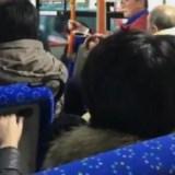老人 男性 暴言 バス