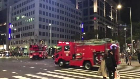 キュープラザ原宿 火事 火災 事故