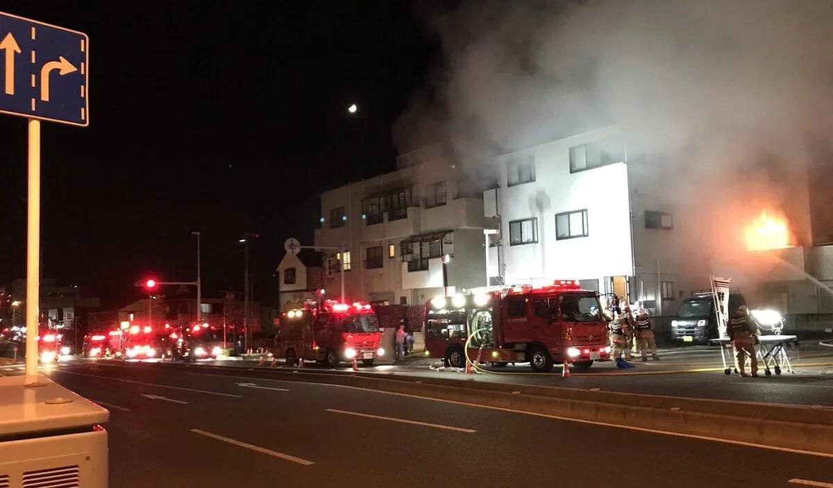 さいたま市 中央区 下落合 火事 火災