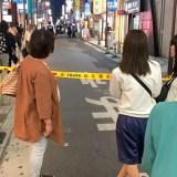 Crime news 大阪・ミナミで十数人が店を襲う