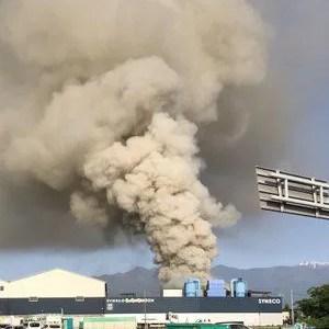 動画 長野県松本市島立しんえこ リサイクルごみ処理場で火災が今日発生 場所はどこ?Twitter画像5月24日