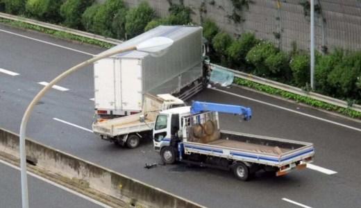 名神高速上り 京都南IC~京都東ICトラック横転事故渋滞で通行止め 復旧はいつ? Twitter画像6月4日