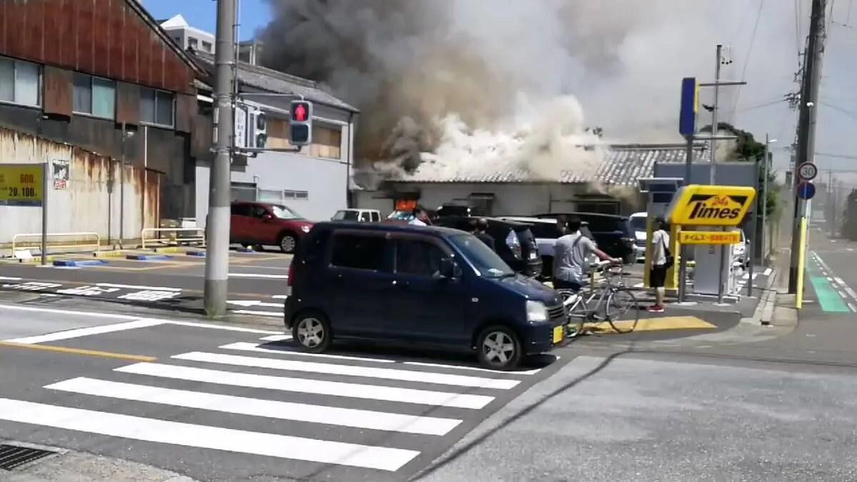 firescene 火事 愛知県一宮市本町4丁目