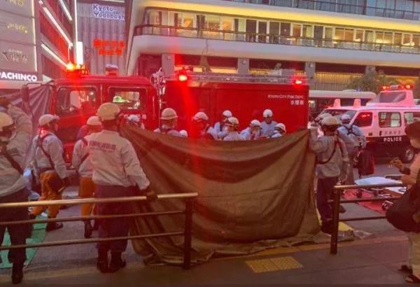 京都市営バスとトラックの衝突事故