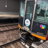 近鉄奈良線 富雄駅で人身事故