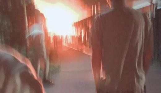 愛媛県新居浜市松の木町付近で火事