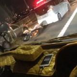 枚方大橋でバイクと車が衝突事故 2019年11月1日