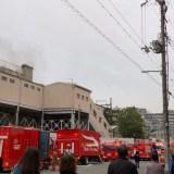 大阪市天王寺区寺田町駅付近で火事 2019年11月3日