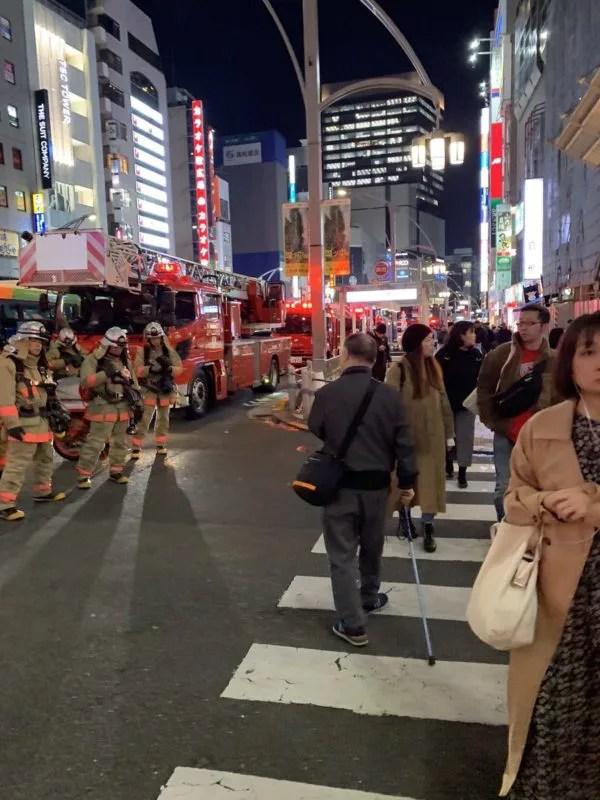 火事 東京都台東区上野二丁目仲町通り 2019年11月21日
