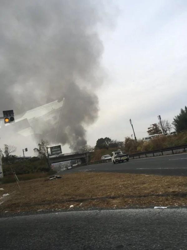 奈良県奈良市学園大和町3丁目 火事 2019年12月11日